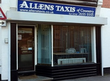 Allens Taxis Coventry