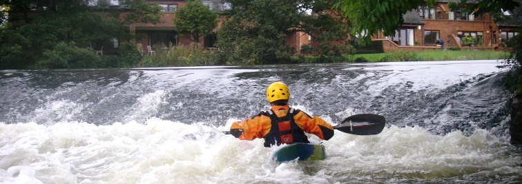 Mercia Canoe Club in Coventry