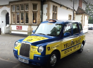 Yellow Taxi Coventry