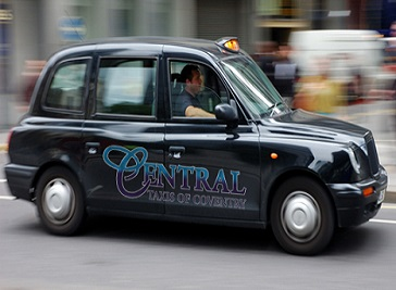 Central Taxis Coventry Ltd in Coventry