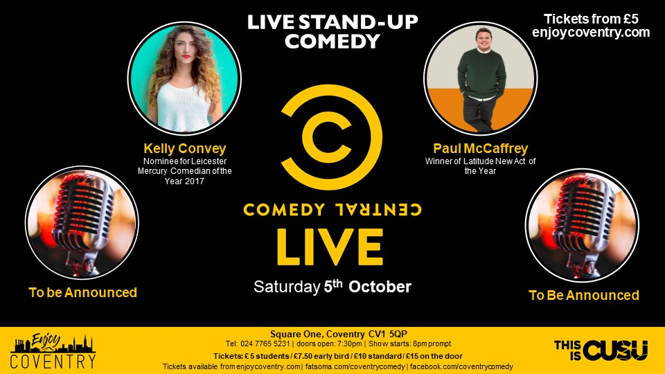 Comedy Central Live- 5th October